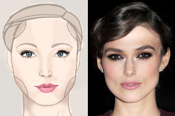 Come valorizzare un viso squadrato con il make up e il giusto taglio di capelli [FOTO]