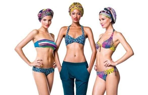 Costumi da bagno Benetton 2012, per un'estate coloratissima [FOTO]