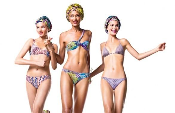 benetton costumi da bagno bikini