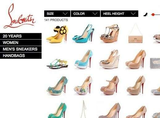 louboutin shop on line