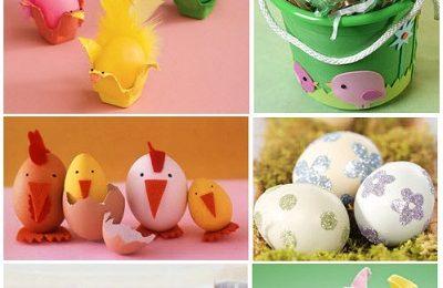 Lavoretti di Pasqua per bambini