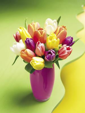 pasqua decorazioni fiori chic
