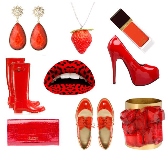 Accessori rosso estate 2012