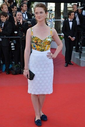 Bonnie Wright_cannes 2012