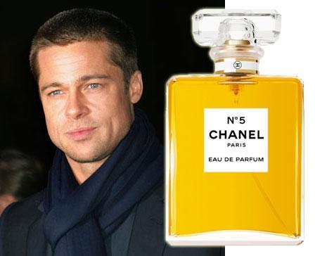 Brad Pitt per Chanel n° 5, primo uomo testimonial del profumo amato da Marilyn