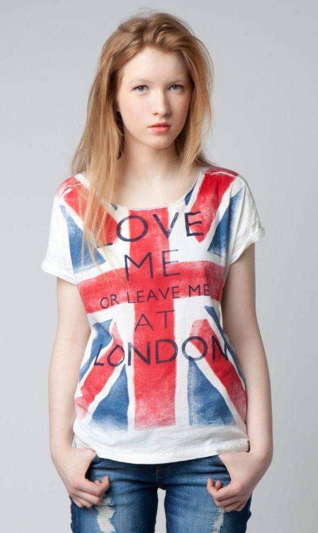 bershka olimpiadi 2012 t shirt bandiera