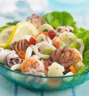 insalate di mare ricetta