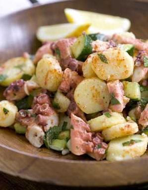 insalate di polpo ricetta