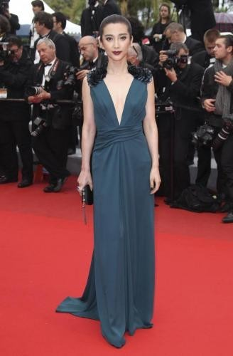 li bingbingsul red carpet di you havent seen nothing yet al festival di cannes 2012