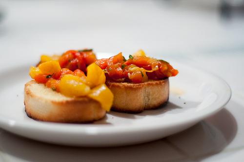 Bruschette peperoni