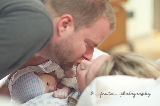 Fotografie d'autore in sala parto, negli USA è la nuova moda