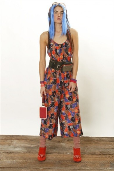 jumpsuit stampa fiori marc by marc jacobs