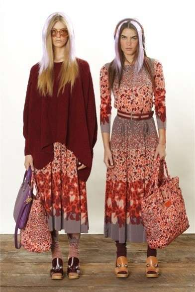 Marc by Marc Jacobs Resort 2013, collezione gipsy chic [FOTO]