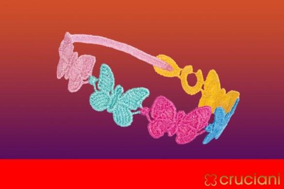 Braccialetto Cruciani farfalle