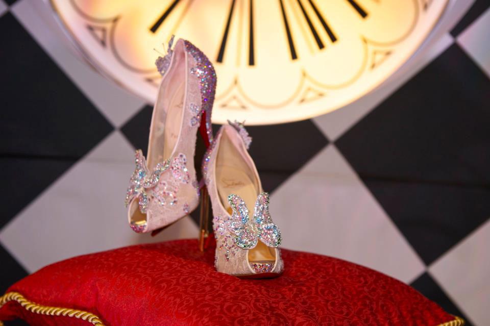 Christian Louboutin crea la scarpetta di Cenerentola e Disney ce la fa vincere