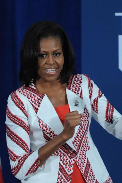 Michelle Obama a Londra per le Olimpiadi