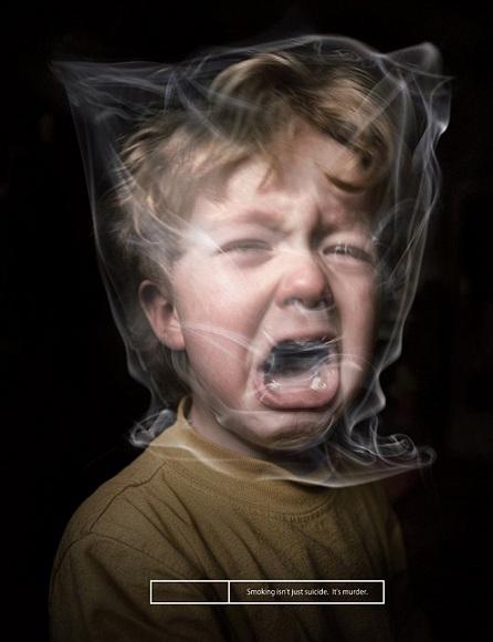 Fumo passivo e i rischi per i bambini