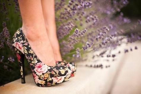 Tendenze moda autunno 2012 scarpe stampate