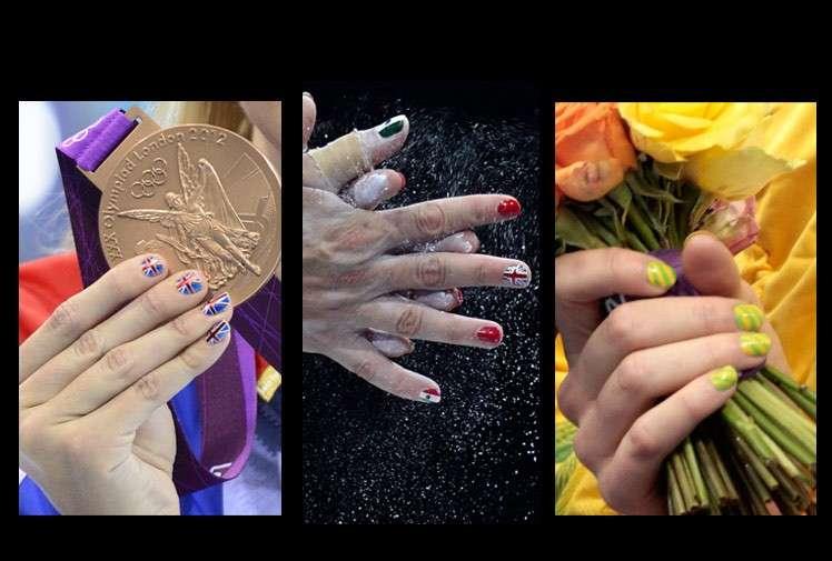 Olimpiadi di Londra 2012, la nail-art delle atlete fa tendenza [FOTO]