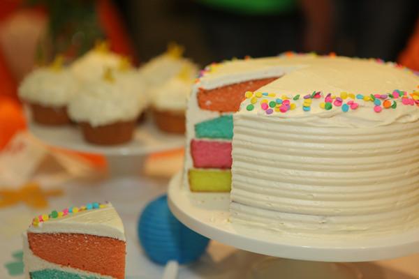 torta con panna estiva