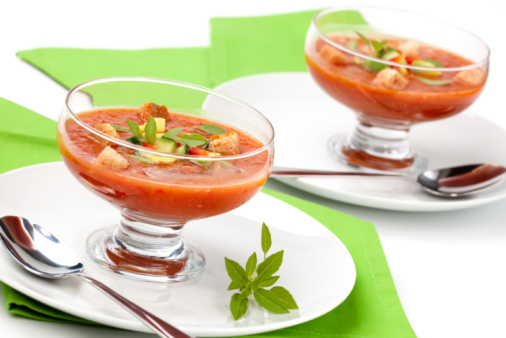 Zuppe fredde per l'estate, le ricette migliori