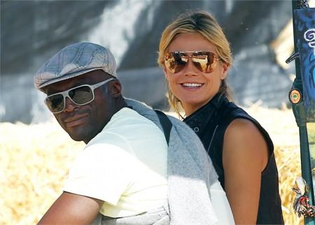 Divorzio fra Heidi Klum e Seal, lei adesso sta col bodyguard