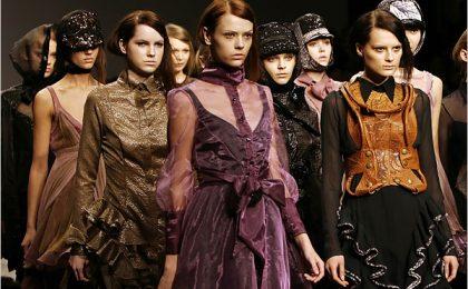 London Fashion Week Primavera/Estate 2013: il calendario delle sfilate