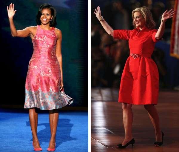 Michelle Obama e Ann Romney: due first lady a confronto [FOTO]