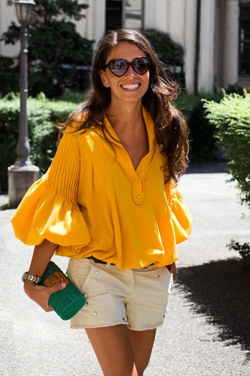 Viviana Volpicella, fashion icon dallo stile innato