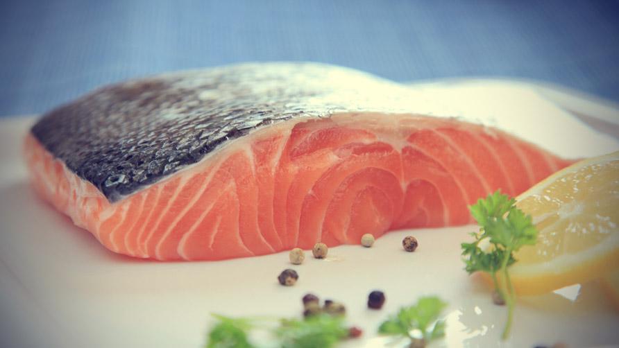 Salmone buon umore