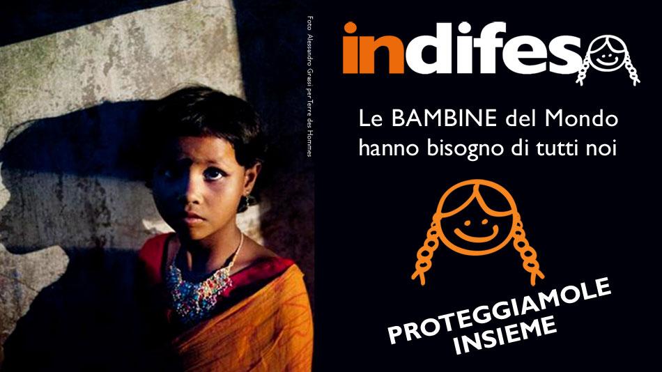 Violenza sulle donne: 11 ottobre Giornata mondiale delle Bambine e delle Ragazze