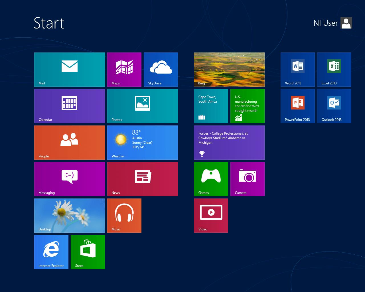 Microsoft presenta il nuovo Windows 8, intuitivo e dalla grafica accattivante