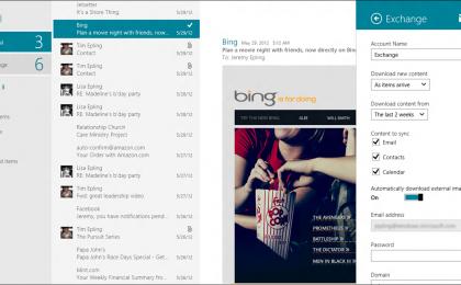 Tutti i tuoi contatti e i tuoi messaggi in un click, grazie a Windows 8