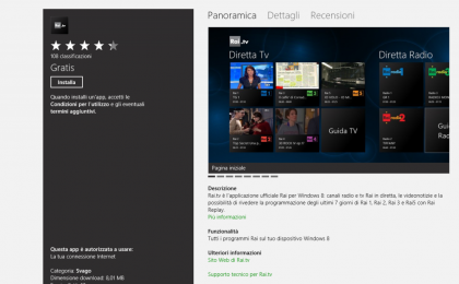 TV e musica come e dove vuoi con Windows 8