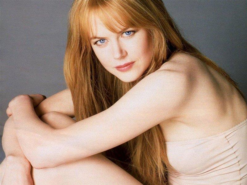 Nicole Kidman pelle chiara occhi chiari