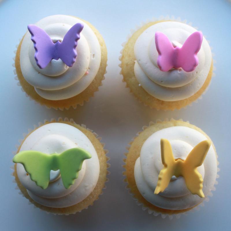 festa donna cupcake farfalla
