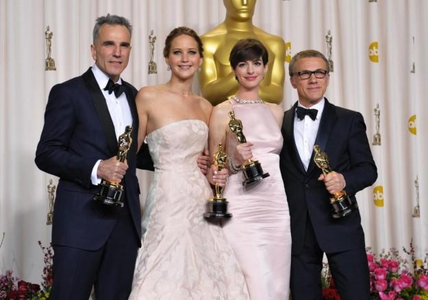 i quattro attori vincitori