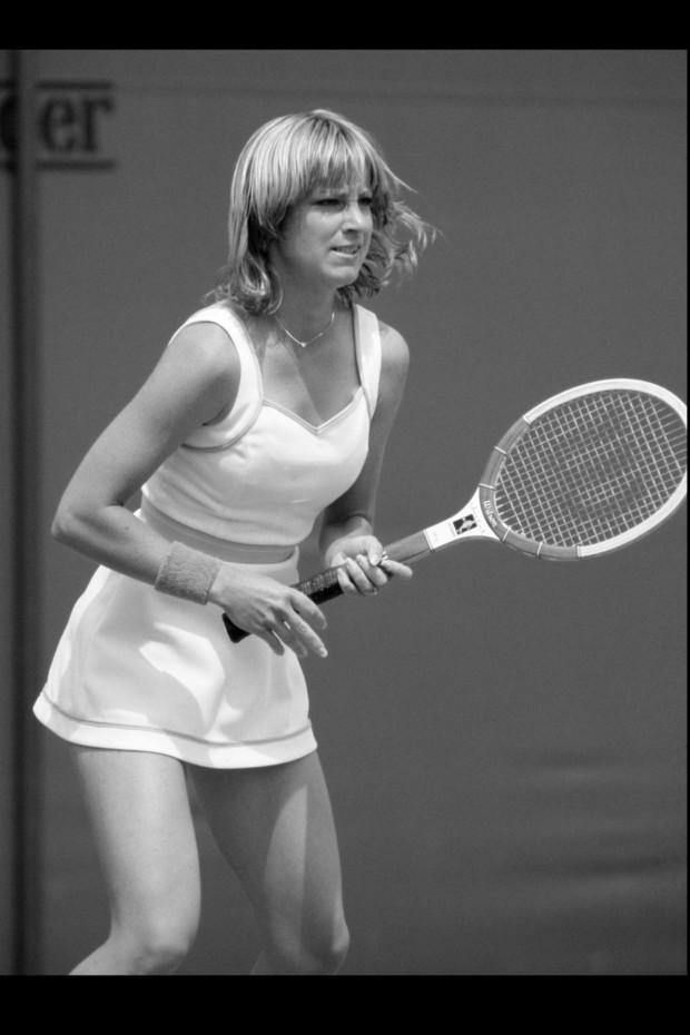 Chris Evert, tennista e inventrice del tennis bracelet