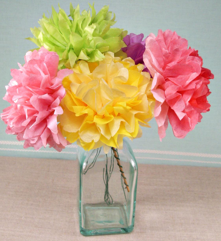 fiori di carta multicolor