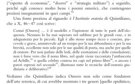 quintiliano versione latino seconda prova 2013