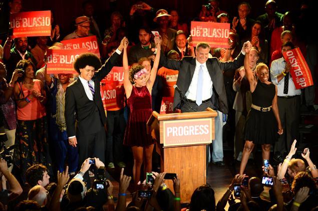 Bill De Blasio è il nuovo sindaco di New York