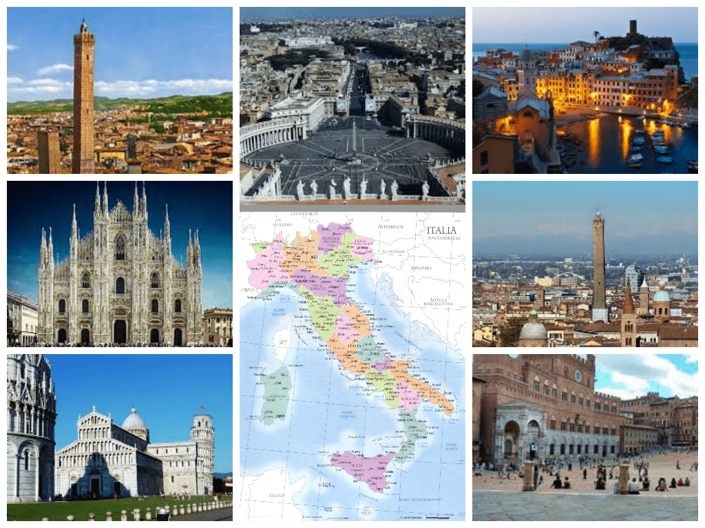 Resultado de imagen de città italiane