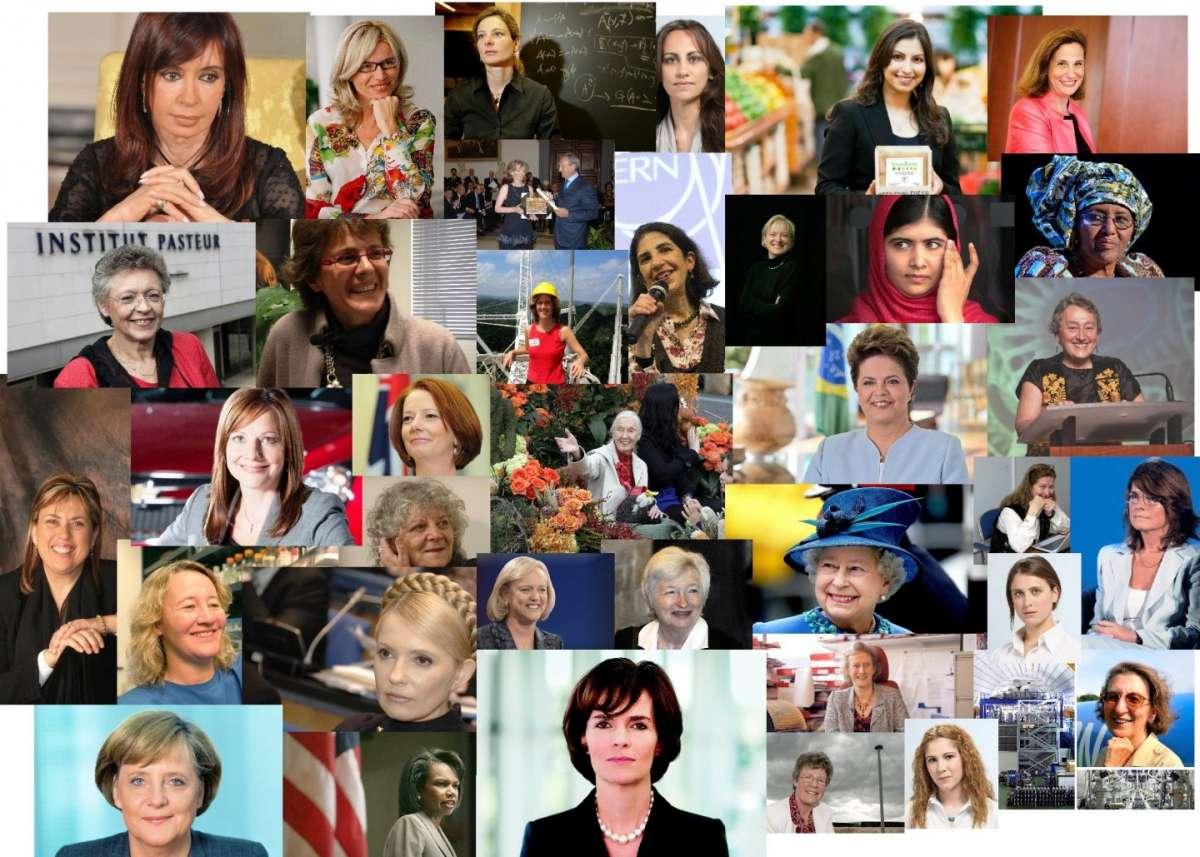 Le donne che stanno cambiando il mondo [FOTO]