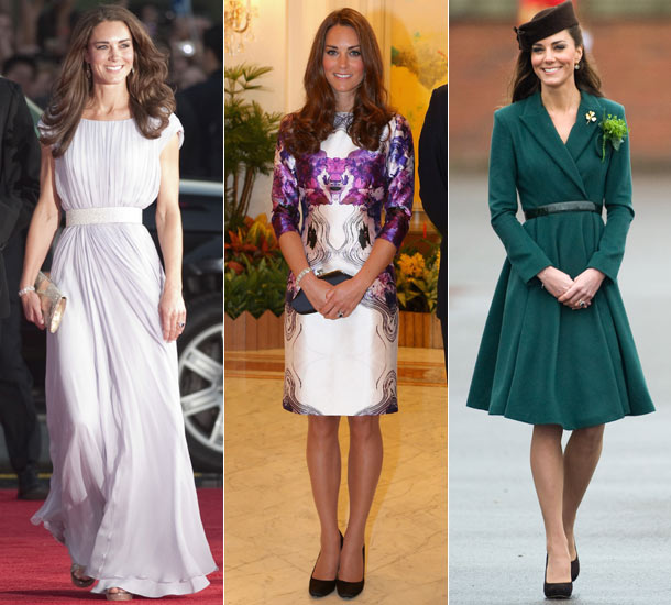Abiti chic per Kate Middleton