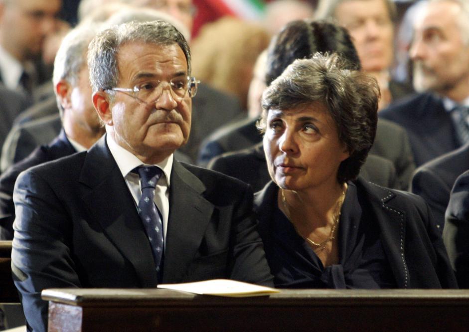 Romano Prodi, Flavia