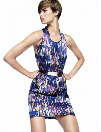Minidress multicolor