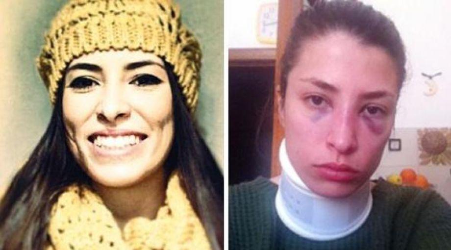 Jessica Rossi aggredita dallex