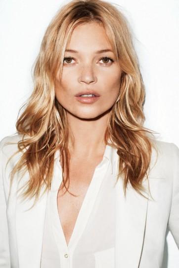 Taglio medio lungo per Kate Moss