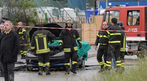 Omicidio-suicidio a Pescara: padre si dà fuoco con la figlia