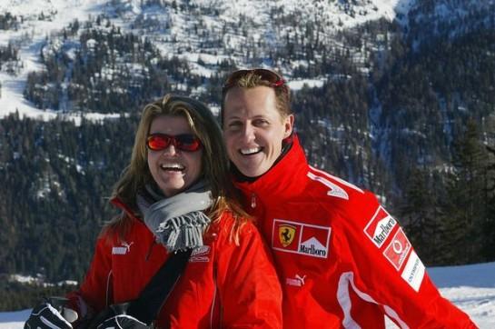 La moglie di Michael Schumacher: è bello sapere che ci siete vicini